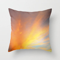 sunset  Throw Pillow by Marianna Tankelevich | Society6