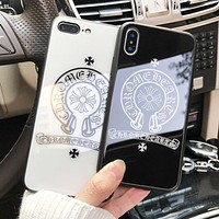 Chrome Hearts New fashion pattern print protective cover phone case
