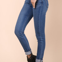 Flying Monkey Medium Wash Denim Skinny