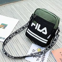Fila Fashion Casual Simple Purse Waist Bag Single-Shoulder Bag Crossbody