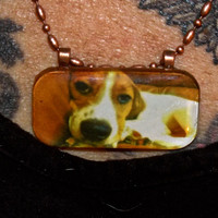 "Custom, Personalized, Made to order, Photograph under glass necklace, 24"", one of a kind necklace, unique gift for yourself or someone else"