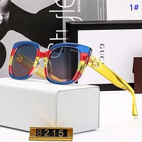 GUCCI New Fashion Polarized Women Men Sun Protection Leisure Glasses Eyeglasses 1#