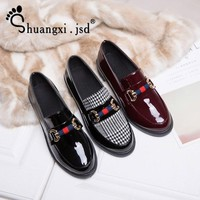 Shuangxi.jsd Luxury Designer Shoes Women Pumps 2018 New Black Heels Work Leather Shoes High Quality Woman Shoe Zapatos mujer