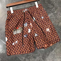 Louis Vuitton LV Summer Men Casual Sports Running Beach Shorts