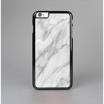 The White Marble Surface Skin-Sert Case for the Apple iPhone 6 Plus