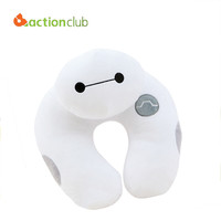 2015 New Arrival Baymax Pillows Famous U-Shape Neck Pillows For Travelling Hot Big Hero 6 U Shape Pillows Free Shipping HH568