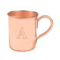 Personalized 17 oz. Moscow Mule Copper Mug w/ Polishing Cloth