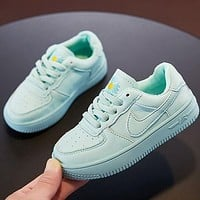 NIKE AIR FORCE 1 Girls Boys Children Baby Toddler Kids Child Durable Breathable Sneakers Sport Shoes