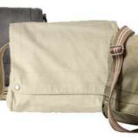 District Threads Canvas Field Bag