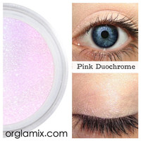 Pink Duochrome Eyeshadow Effects