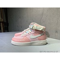 Nike Air Force 1  Child Girls Boys shoes Children boots Baby Toddler Kids Child Fashion Casual Sneakers Sport Shoes