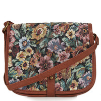 Tapestry Crossbody - Cross Body Bags - Bags & Wallets - Bags & Accessories - Topshop USA