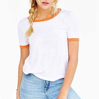 Truly Madly Deeply Bleachers Ringer Tee