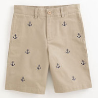 Boys Shorts: Embroidered Anchor Club Shorts for Boys 2T-7 – Vineyard Vines