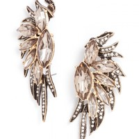 Phoenix Wing Ear Cuffs-Gray