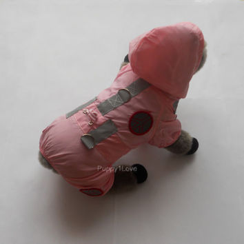 Beautiful DOG Clothes Hoodie Raincoat S Size Pink ready to  ship