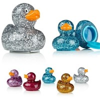 Sparkle Glitter Shimmer Rubber Ducky Lip Balm - Blue Available