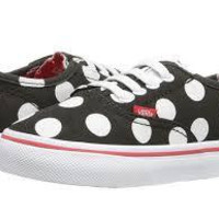 Vans T Authentic V Lace(Polka Dots)Black/Firy