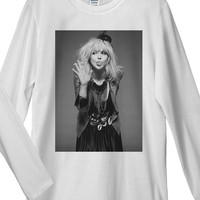 Courtney Love Long Sleeve T-Shirt