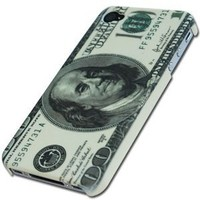 Cool Money Designer Hard Back Case Cover for Apple iPhone 4 4G 4s AT&A Verizon 4S U.S. Dollar