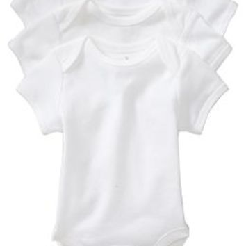 Jersey Bodysuit 3-Packs for Baby
