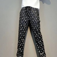 """LOUIS VUITTON"" Woman Casual  Fashion Letter  Print Long Sleeve Trousers Two-Piece Casual Wear"