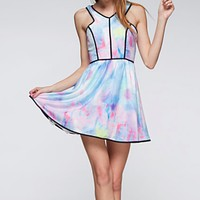 Final Sale - Tie Dye The Watercolor Dress