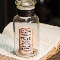 Witchs Brew Toad Jar