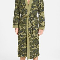 Men's Majestic International 'Camo Land' Cotton Robe