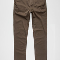 Rsq Seattle Mens Skinny Tapered Chino Pants Olive  In Sizes