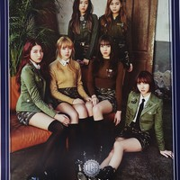 G-FRIEND GFRIEND - THE AWAKENING (4th Mini Album) [Military ver.] CD+Photobook+Photocard+Folded Poster+Extra Photocards Set