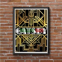 Great Gatsby Photo Poster