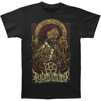 Thy Art Is Murder Men's  Evil Pope T-shirt Black Rockabilia