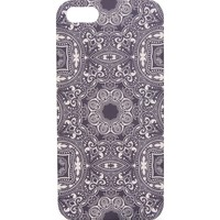 With Love From CA Tile Print iPhone 5/5S Case - Womens Scarves - Blue - One
