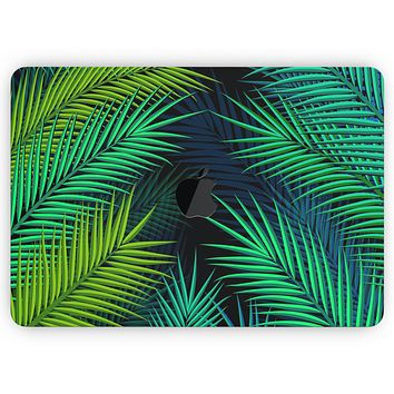 """Retro Summer Jungle v1 - Skin Decal Wrap Kit Compatible with the Apple MacBook Pro, Pro with Touch Bar or Air (11"""", 12"""", 13"""", 15"""" & 16"""" - All Versions Available)"""