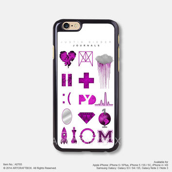 Journals Justin Bieber Free Shipping iPhone 6 6Plus case iPhone 5s case iPhone 5C case 765