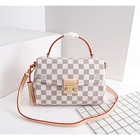 louis vuitton lv women leather shoulder bag satchel tote bag handbag shopping leather tote crossbody satchel shouder bag 83