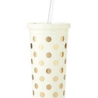 Kate Spade Gold Dots Insulated Tumbler Gold Dots ONE