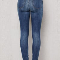 PacSun Maria Blue High Rise Skinny Jeans at PacSun.com