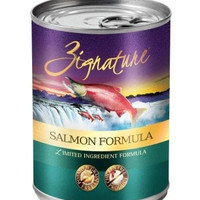 ZIGNATURE CANNED DOG FOOD - ZIGNATURE SALMON - 12/13OZ - Pets Global - UPC: 888641131532 - DEPT: OTHER PET FOODS