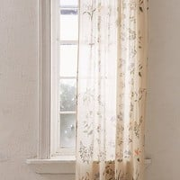 Garden Sprig Floral Curtain | Urban Outfitters