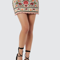 More Floral Me Skirt