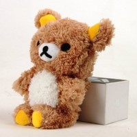 Authentic iPlush Plush Toy Cell Phone Case for Apple iTouch 4 Brown Bear:Amazon:Cell Phones & Accessories