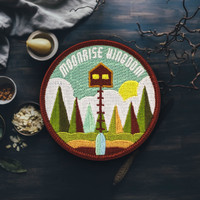 Moonrise Kingdom (Wes Anderson) Patch (Free Shipping US)