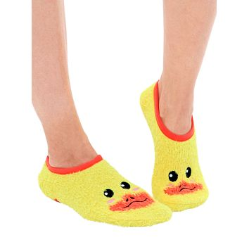 Fuzzy Duck Slipper