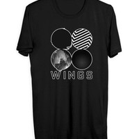 Bts Wings Cover Mens T Shirt