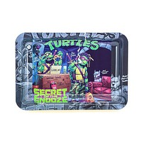 Teen Turtles Metal Rolling Tray