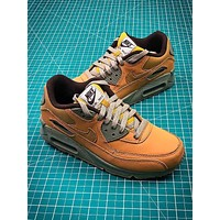 Nike Air Max 90 Yellow Sport Running Shoes