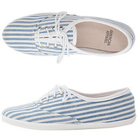 American Apparel - Unisex Striped Tennis Shoe