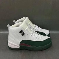 Best Deal Online Nike Air Jordan Retro 12 White Green